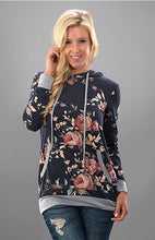 Load image into Gallery viewer, Fall Floral Hoodie