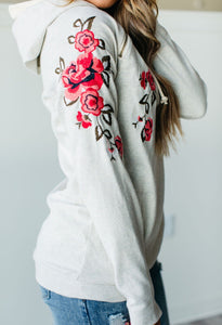Floral Embroidered DoubleHood™