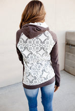 Load image into Gallery viewer, Charcoal Lace Accent DoubleHood™