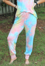Load image into Gallery viewer, Accent Joggers | Seaside Tie Dye