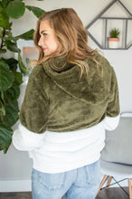 Load image into Gallery viewer, Sherpa Hoodie | Olive