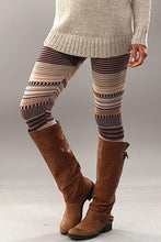 Load image into Gallery viewer, Striped Sweater Leggings