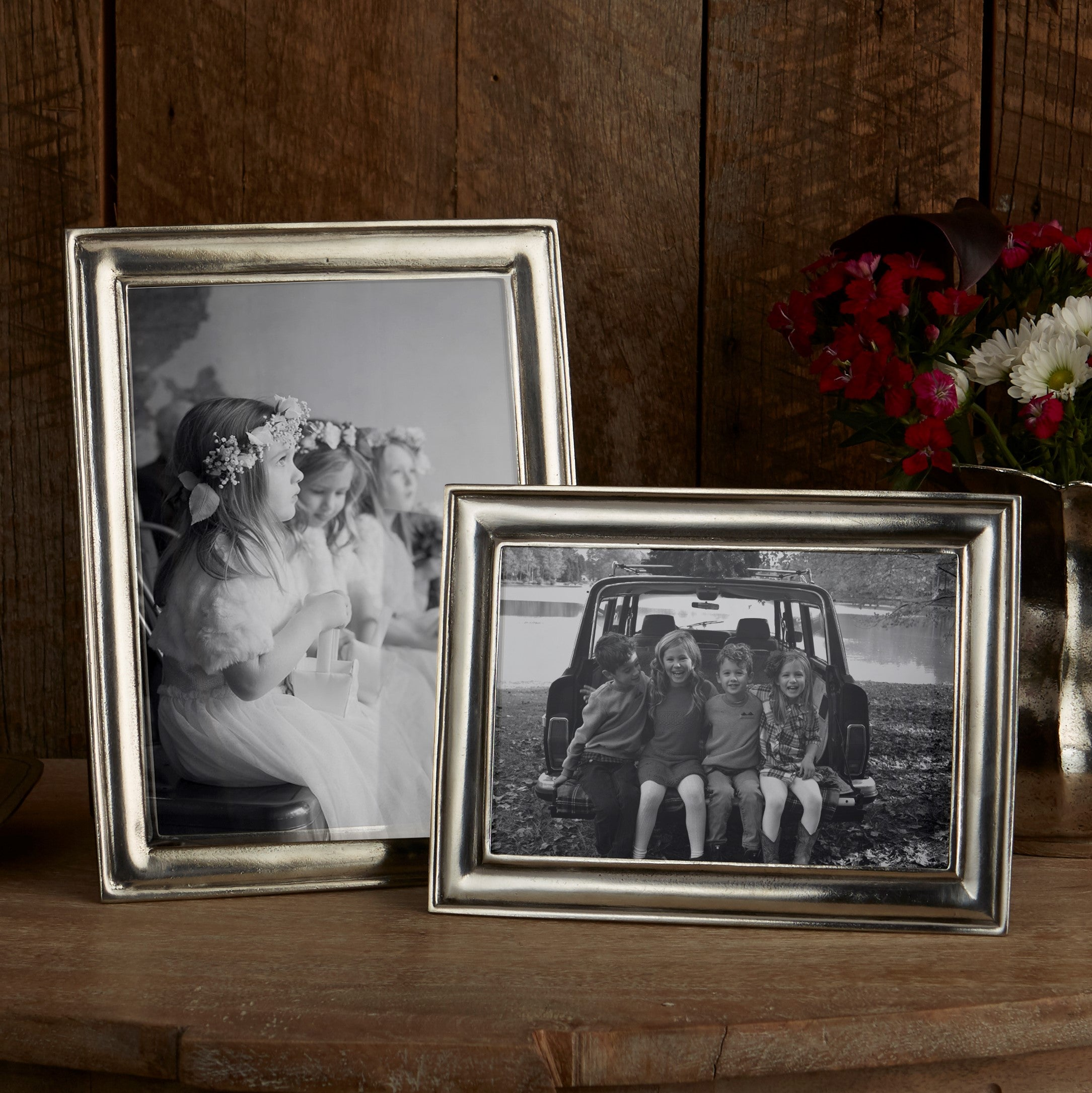 Pewter Photo Frames