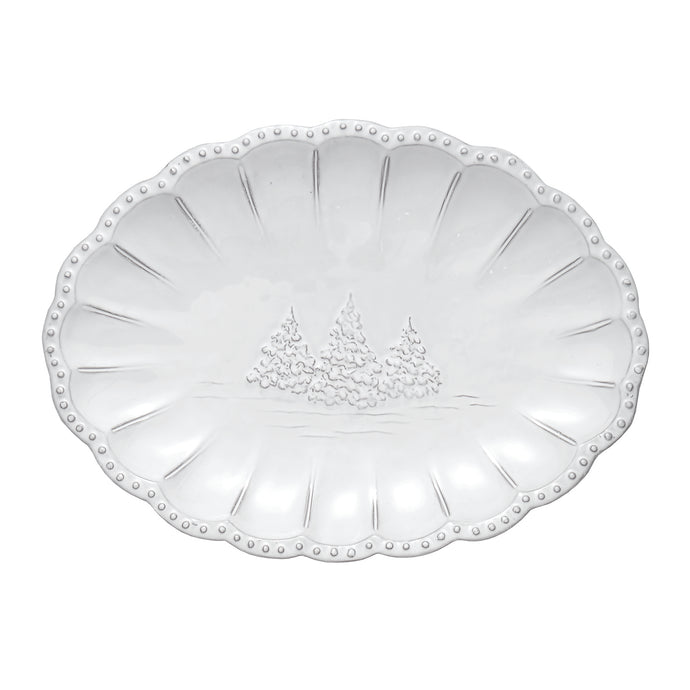 Bella Natale Small Oval Platter