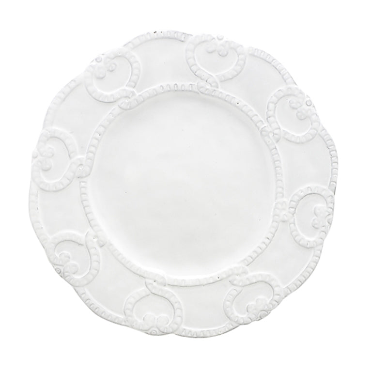 Bella Bianca Antique Lace Salad/Dessert Plate