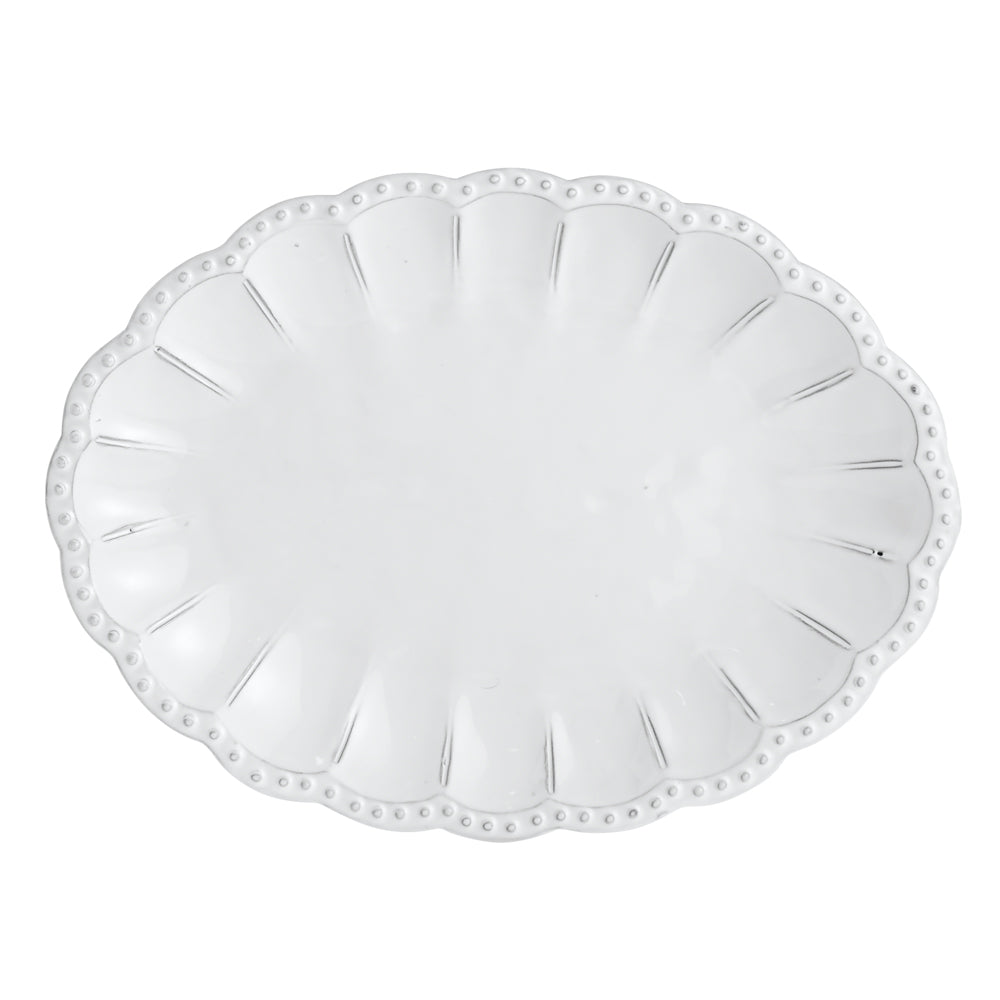 Bella Bianca Beaded Tray