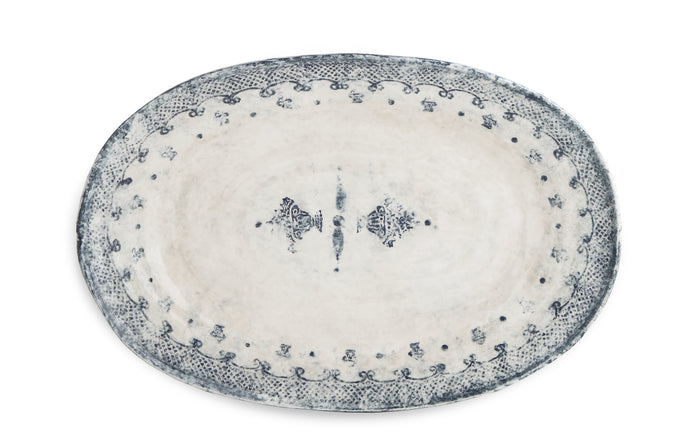 Burano Large Oval Platter