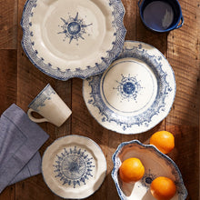 Load image into Gallery viewer, Burano Large Scalloped Oval Platter