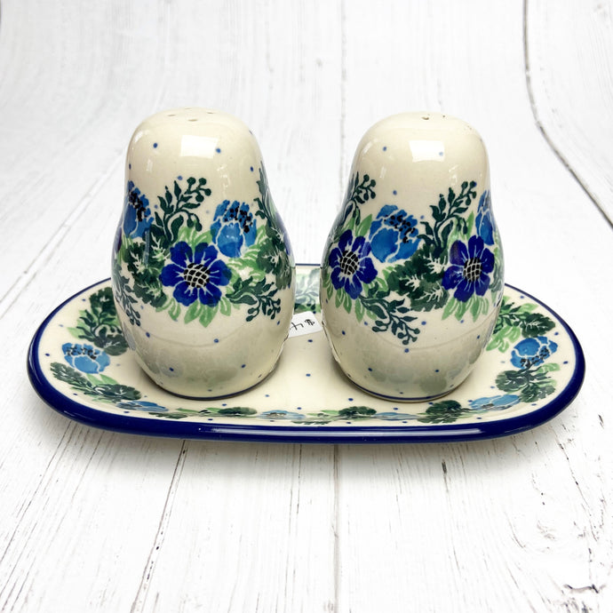 Spring Meadow Salt & Pepper w/ Tray