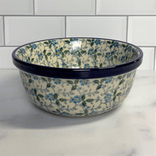 Load image into Gallery viewer, Sapphire Soup/Cereal Bowl 6""