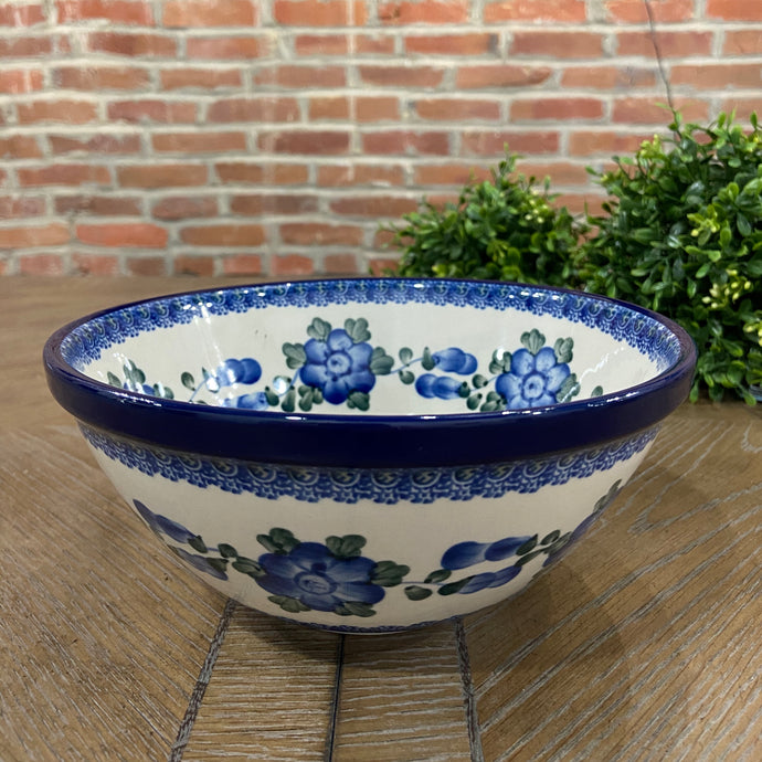 Blue Poppies Nesting Bowl 8