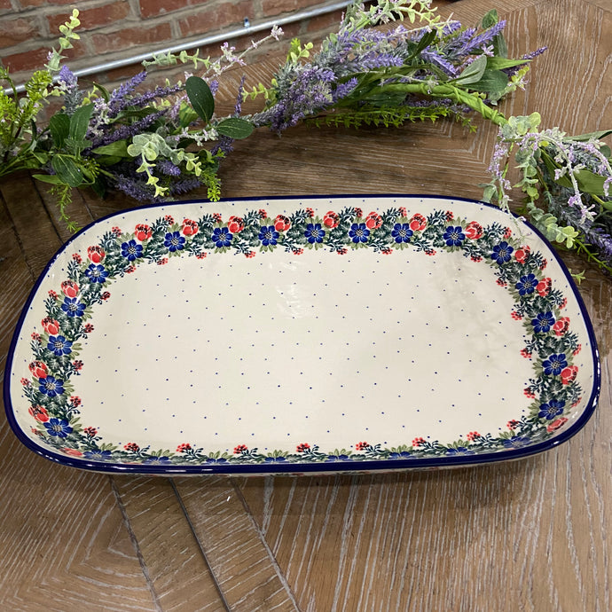 Garden Party Large Shallow Tray