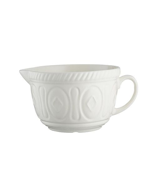 Cream Batter Bowl 9.75
