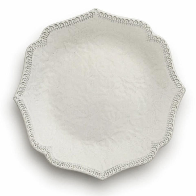 Merletto Antique Scalloped Salad/Dessert Plate