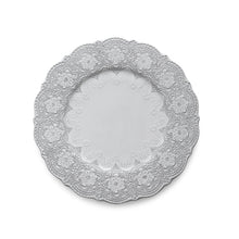 Load image into Gallery viewer, Merletto White Charger/Dinner Plate