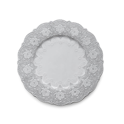 Merletto White Charger/Dinner Plate