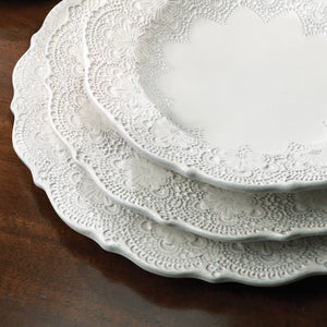 Merletto Antique Scalloped Pasta/Soup Bowl