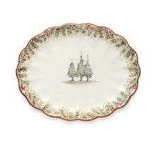 Load image into Gallery viewer, Natale Scalloped Oval Platter