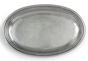 Peltro Small Oval Tray