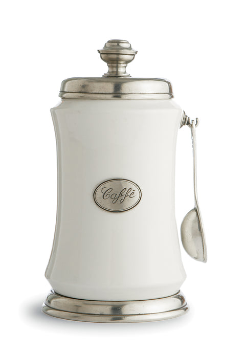 Tuscan Coffee Canister with Spoon