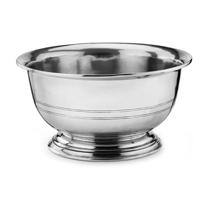 Peltro Footed Serving Bowl