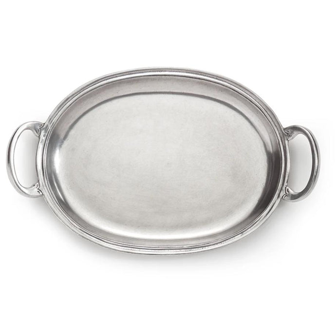 Peltro Small Tray with Handles