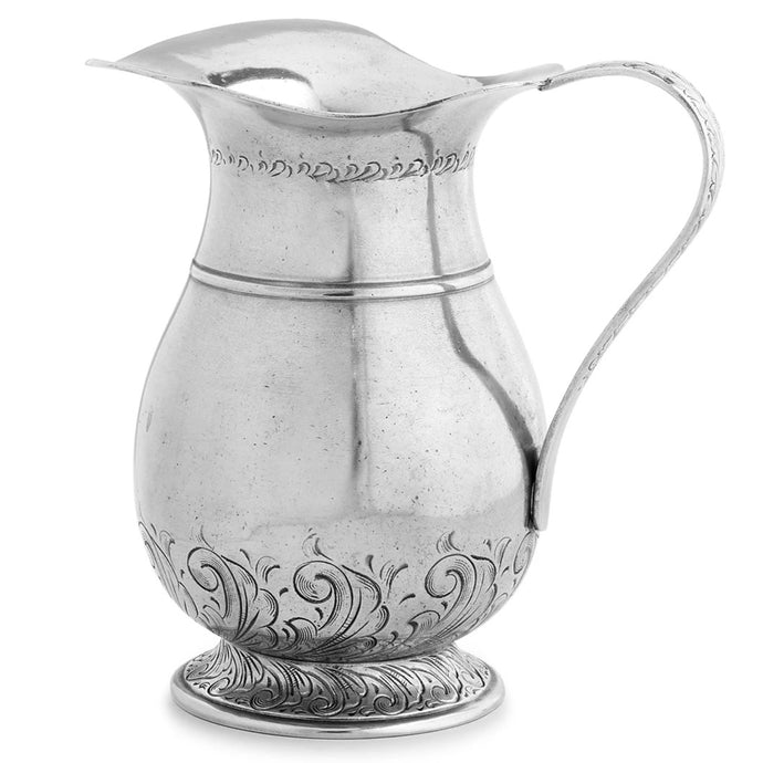 Peltro Tall Fluted Pitcher