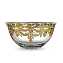 Load image into Gallery viewer, Vetro Gold Serving Bowl