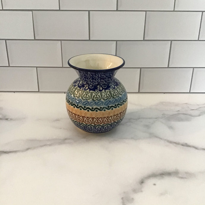 Blue Moon Bubble Vase