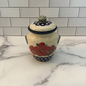 Galia Small Jar with Lid