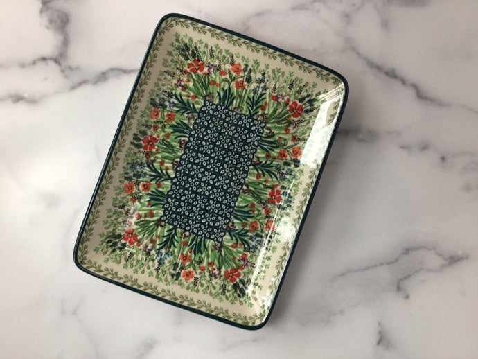 Field of Flowers Rectangular Tray