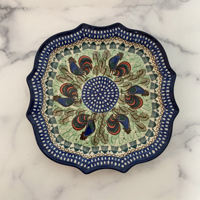 Blue Rooster Serpentine Tray