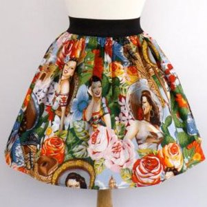 """Lindy"" Señoritas Skirt"