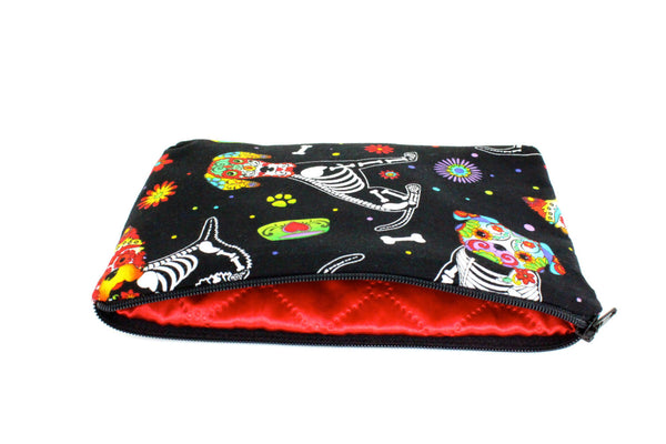Day of the Dead Dog Wallet