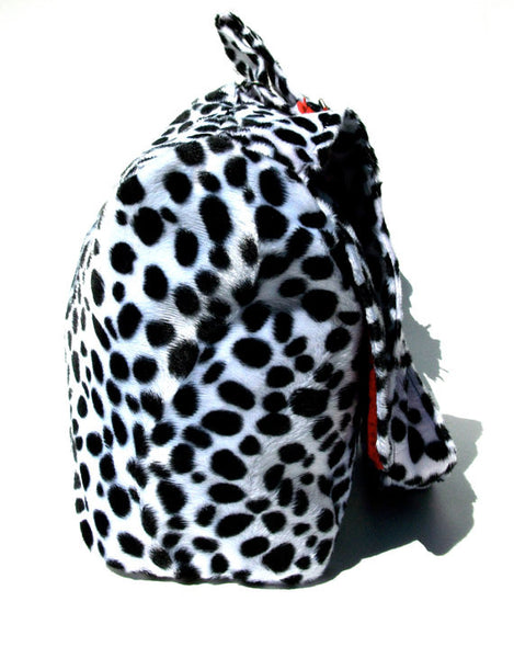 """What a Square"" Dalmation Messenger Bag"
