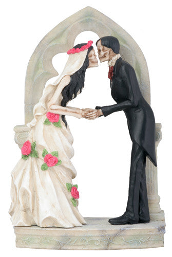 Love Never Dies Gothic Arch Couple