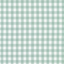 Load image into Gallery viewer, green gingham print