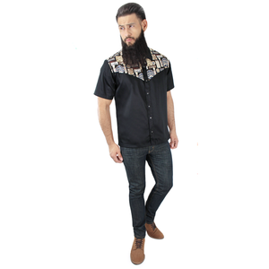 Men's Goodfellas Barbershop Western Top