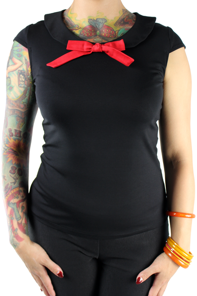 Black Sailor Top XS-4XL