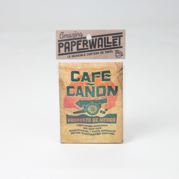 Cafe Cañon Paper Wallet