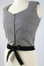Load image into Gallery viewer, A Stripe Love Affair - Striped Knot Top