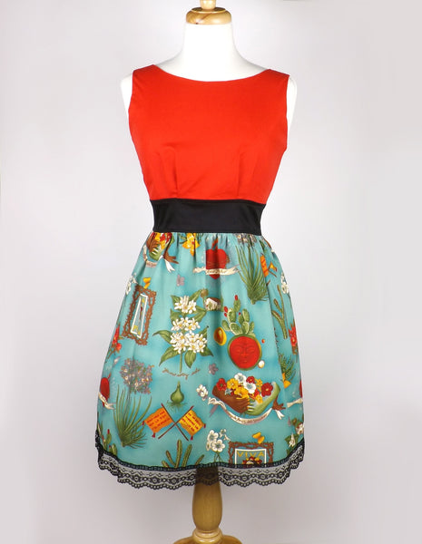 """Head Over Wheels"" Viva Frida Dress"
