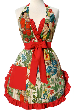 Frida Apron on mannequin