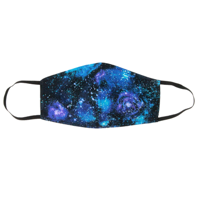 Galaxy Face Mask With Filter Pocket