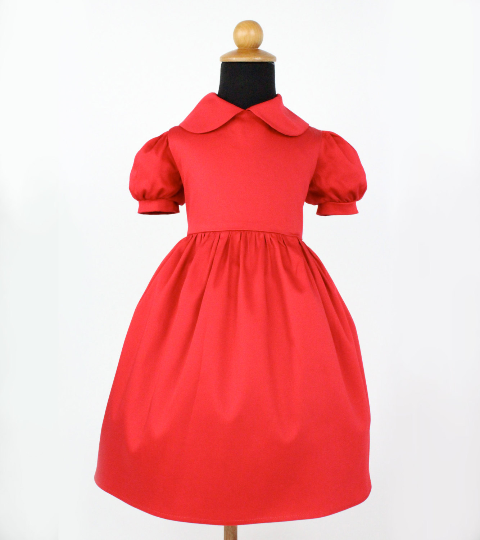 "Girl's ""Annie"" Dress"