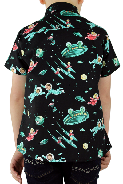 Boy's To Infinity Space Top