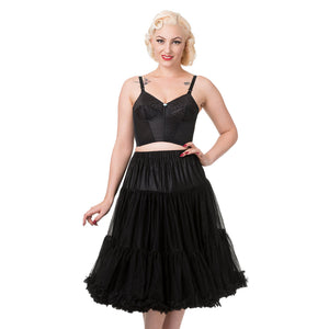 Model wearing petticoat