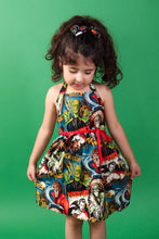 Load image into Gallery viewer, Monsters Girl's Dress, front