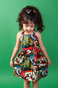 Monsters Girl's Dress, front