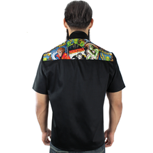 Load image into Gallery viewer, Men's Hollywood Monsters Western Top, back